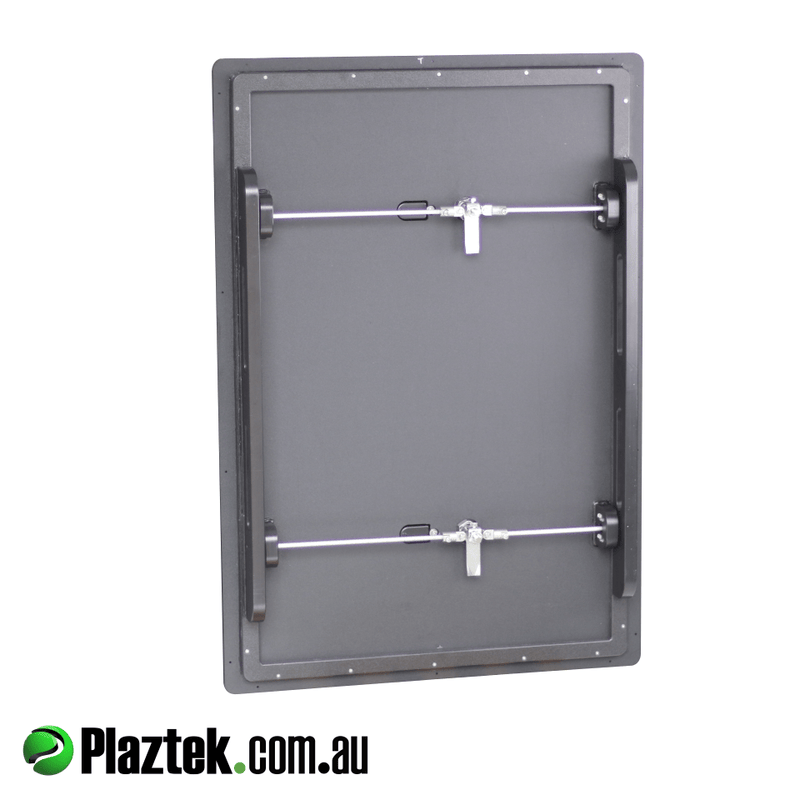 Boat cabin Security Door made by Plaztek Boat outfitting products