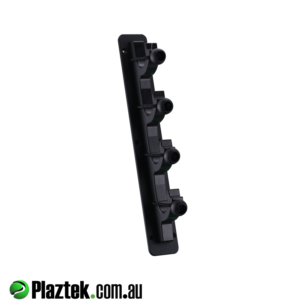 Boat outfitting made easy with Plaztek. Boat gaff, pole, and rod holder offers marine grade shock cord to secure your items in as safe place. Made in Australia.