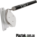 Plaztek Gaff Holders Gunnel mount for Fishing and Boat Tool Holders, Round Head Hook