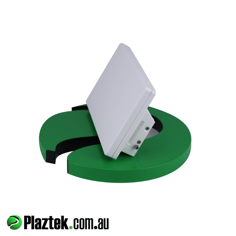 Tilt Out Boat Phone Holder stores your mobile phone in a dry place. Tilts back for flush mounting. Made from white King StarBoard