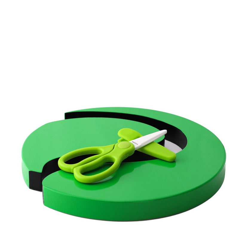 Ceramic Scissors with Guard Supplied by Plaztek