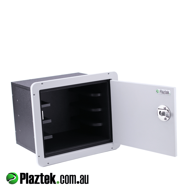Plaztek Australian Made Boat Tackle Cabinet Slide Out 4 Tray Wide