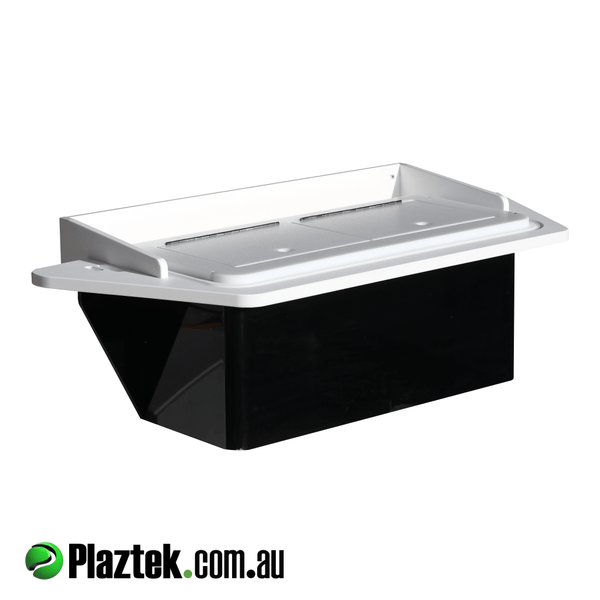 Plaztek Bait Board Live well holds 30 odd litres, with built in overflow drain