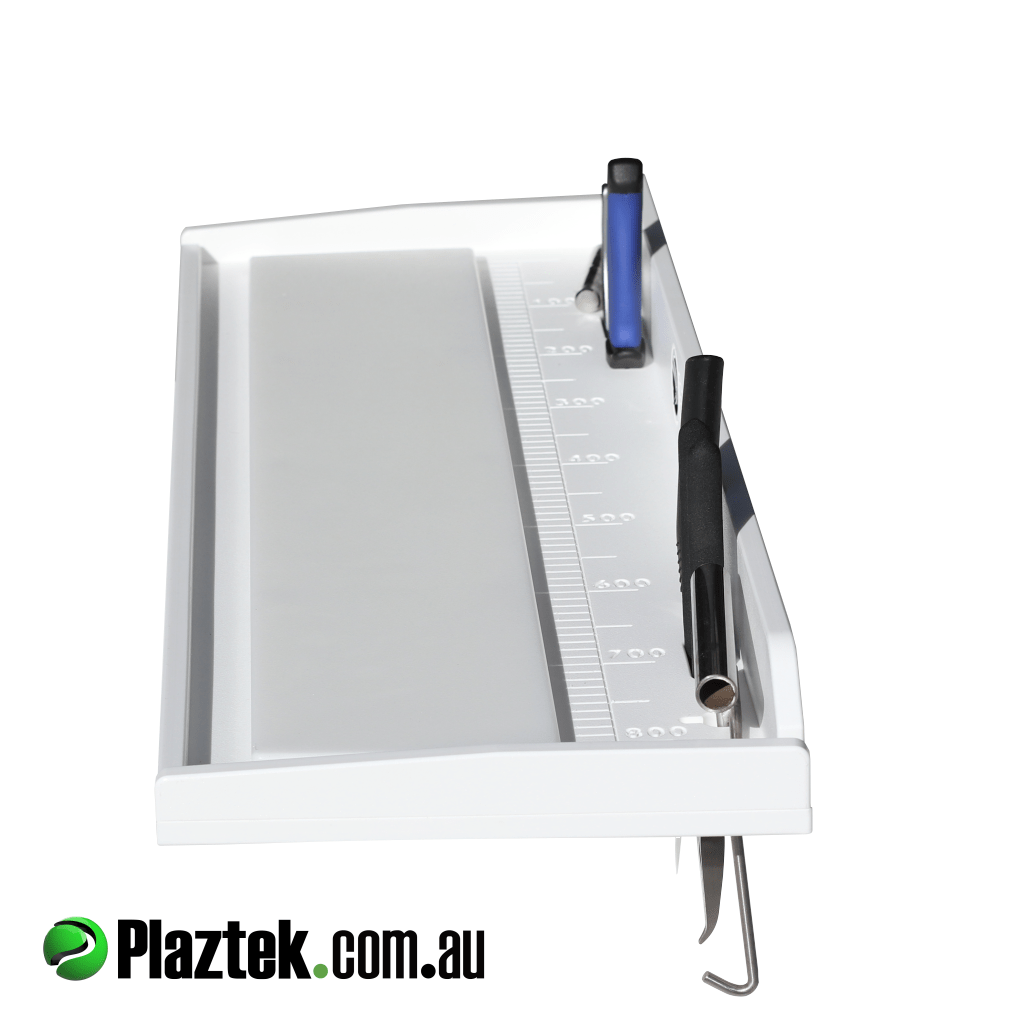 Plaztek Bait Boards made from King StarBoard®️, Built in fishing tool holders and fish ruler