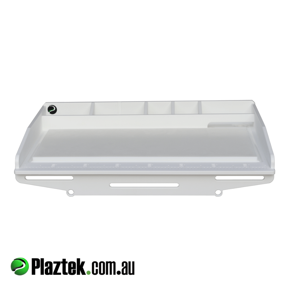 Plaztek Bait Boards can be custom made to your size made from Premium Marine Board here in Australia