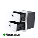 Australian Made Custom Boat Drawers from Plaztek for Tackle Storage