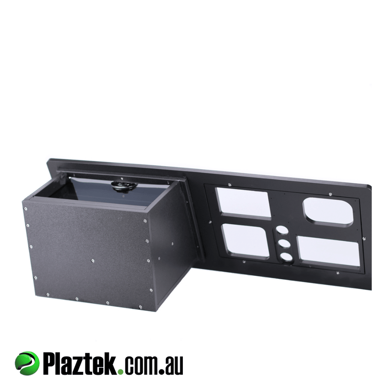 Custom Boat Glove Box and Dash complete made in Australia by Plaztek