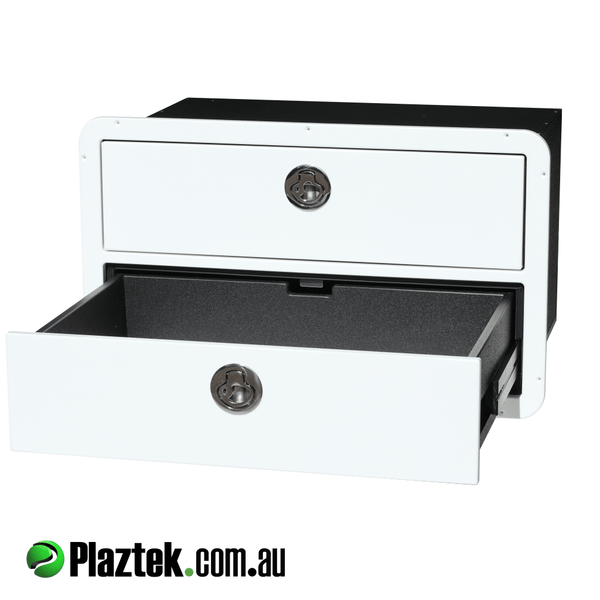 Plaztek custom built boat drawers, made in Australia to your cut out size