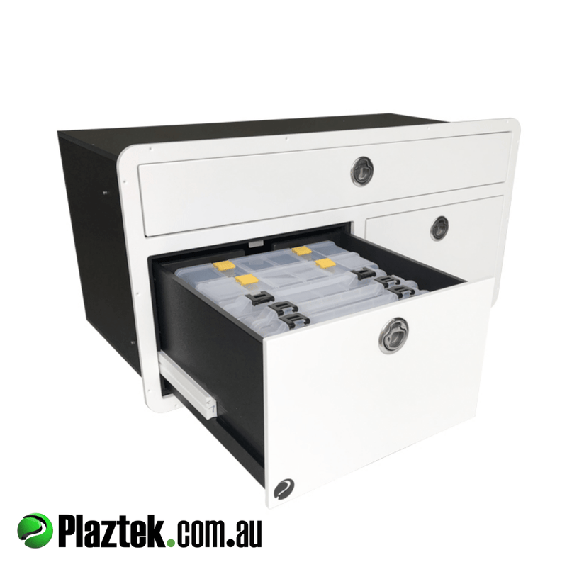 Plaztek Boat Tackle Storage, Boat Drawers made from King StarBoard®️