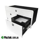 Plaztek Boat Drawers the most efficient use of space, Made from King Starboard®️