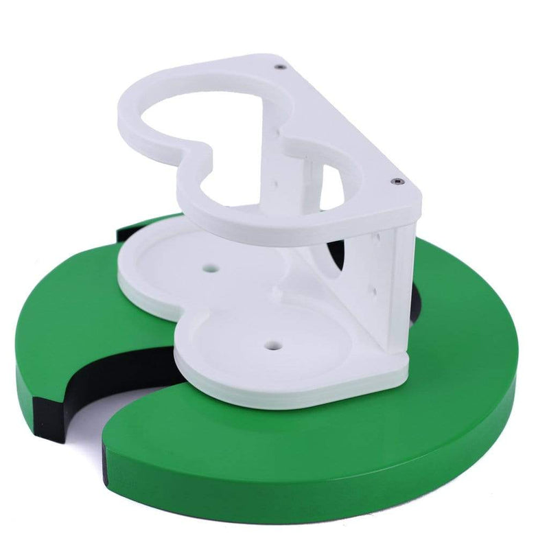 Plaztek Removable Double Cup Holder for boats cip-on and clip-off depending on how you will be using the boat for the day