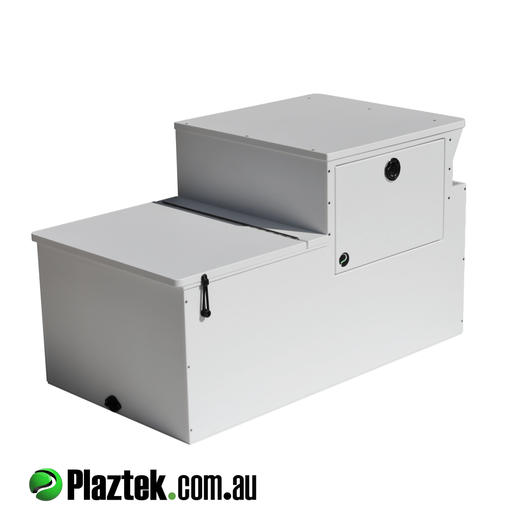 Plaztek Boat Seat Box With Tackle Tray Storage Built In Great Boat Storage  And Use Png