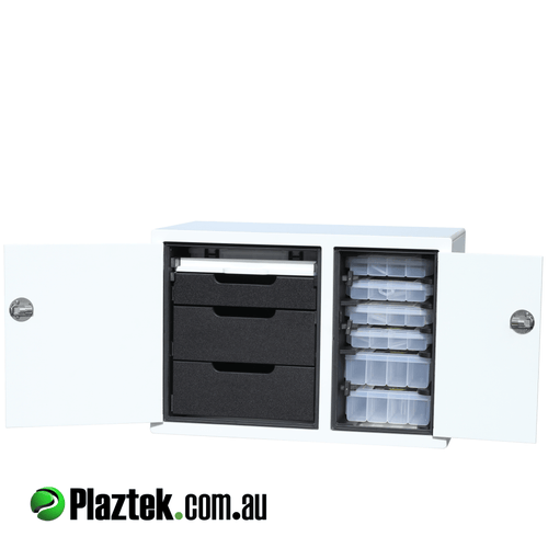 Plaztek Boat Tackle Cabinet Console for Custom Boat Outfitting