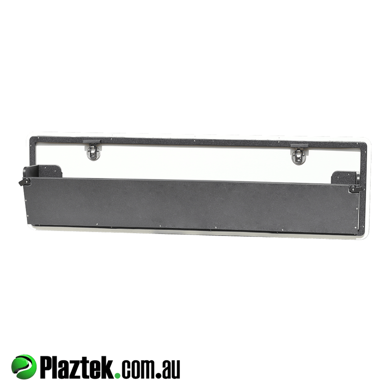Australian Made Gunnel Storage Bins from Plaztek