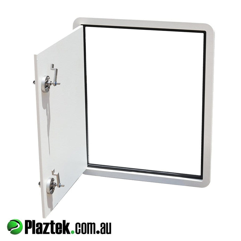 Australian Made Custom Hatches for Boats, Caravans & RV's from Plaztek