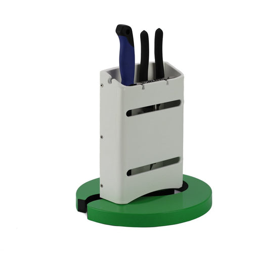 Plaztek Boat Fishing Tool Holder in a covered unit holds bait knives, fishing pliers & more
