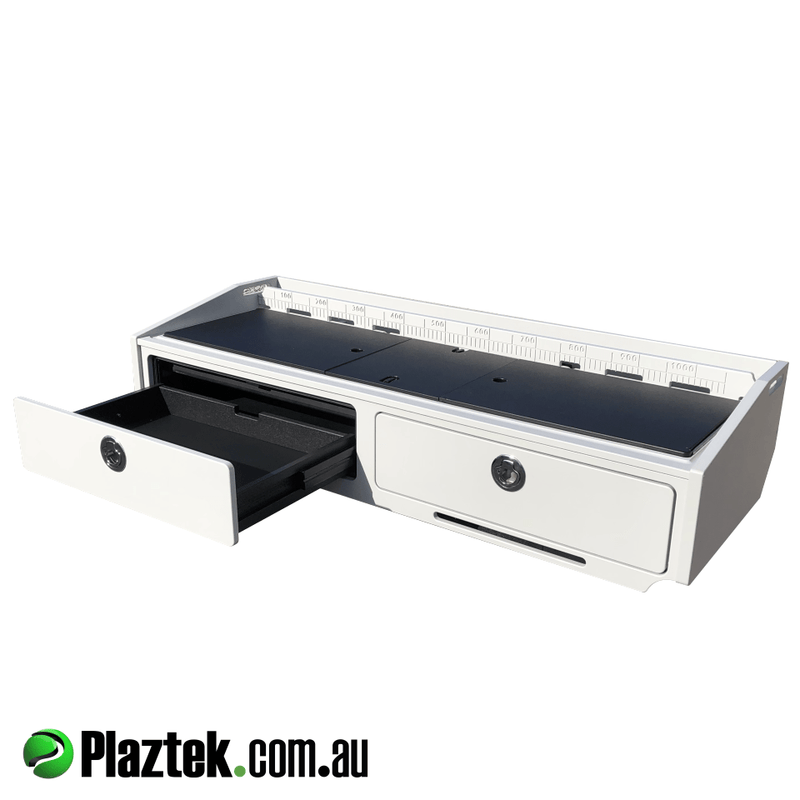 Plaztek Bait Boards feature our unique drawer runners that are maintenance free