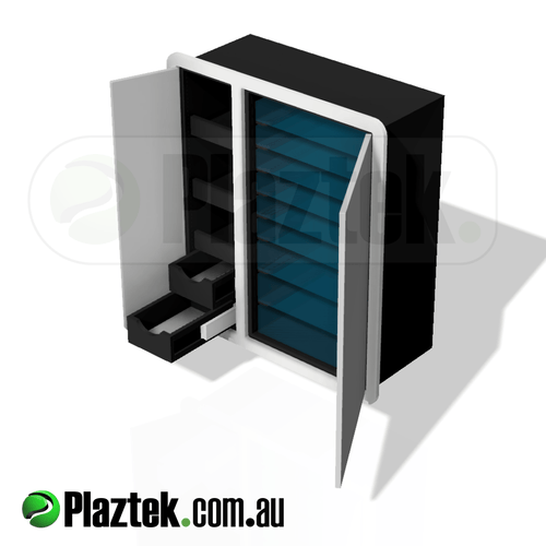 Plaztek Custom Boat Tackle Centre for Fishing Tackle Storage