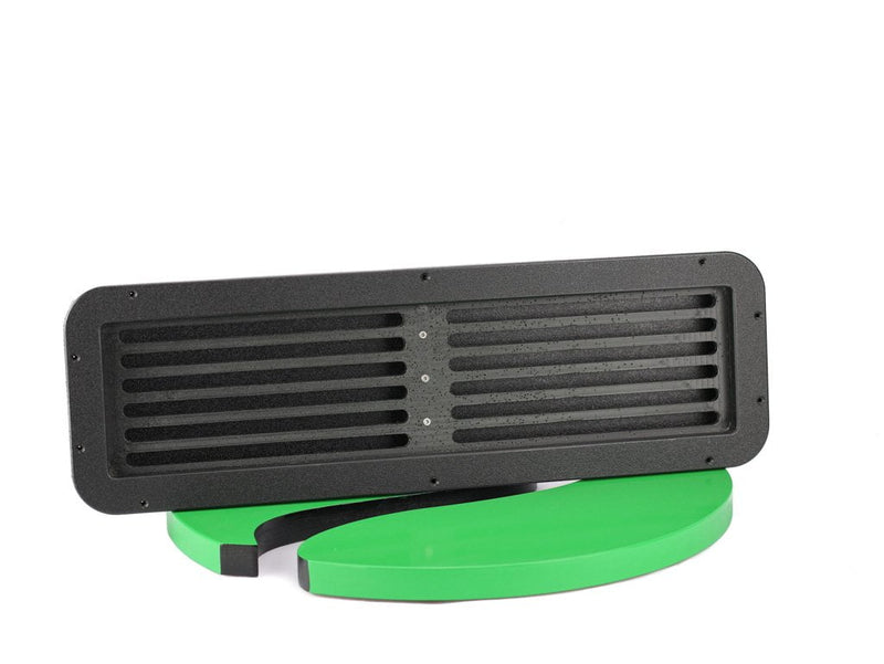 Plaztek custom Vent, made from 100% recycled Eco Board