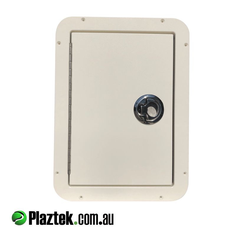 Plaztek Custom Boat Hatches and compression latch