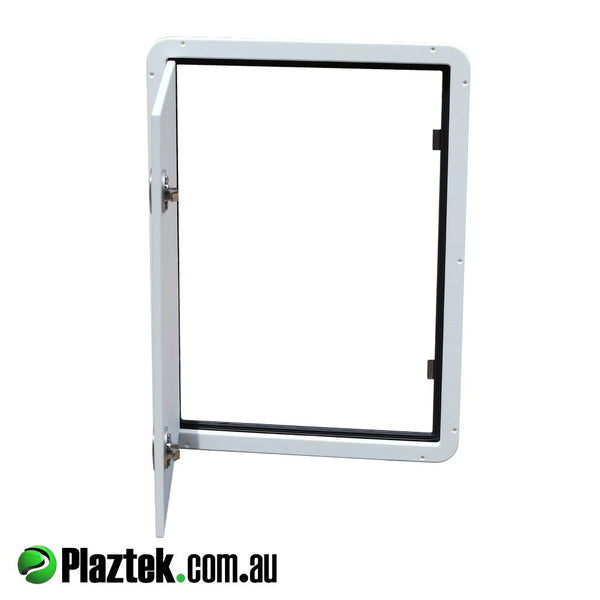 Australian Made Plaztek Custom Hatches for Boats, Caravans and RV's