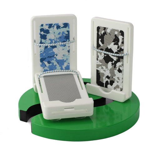 Plaztek Universal Mobile Phone Holder, easy mount with suction cup, three colours Light Grey, Camo Blue, Camo Black