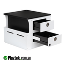 Plaztek Boat Helm Seat Box for custom boat outfitting
