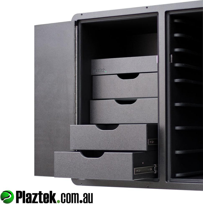 Fishing tackle storage by plaztek, tackle trays and much more in black