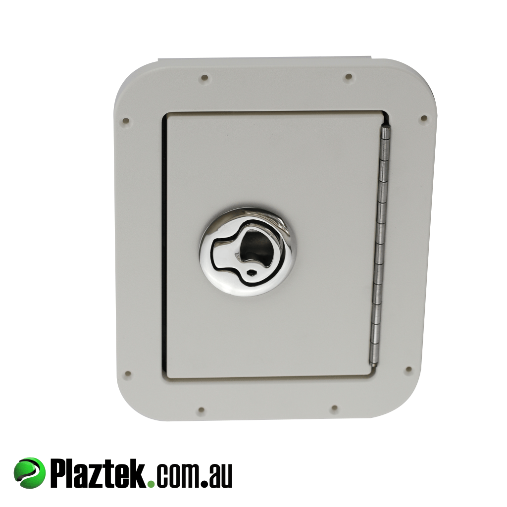 Plaztek Boat Shower Box for your Boat Outfitting high quality match to your boat hatches made from King StarBoard