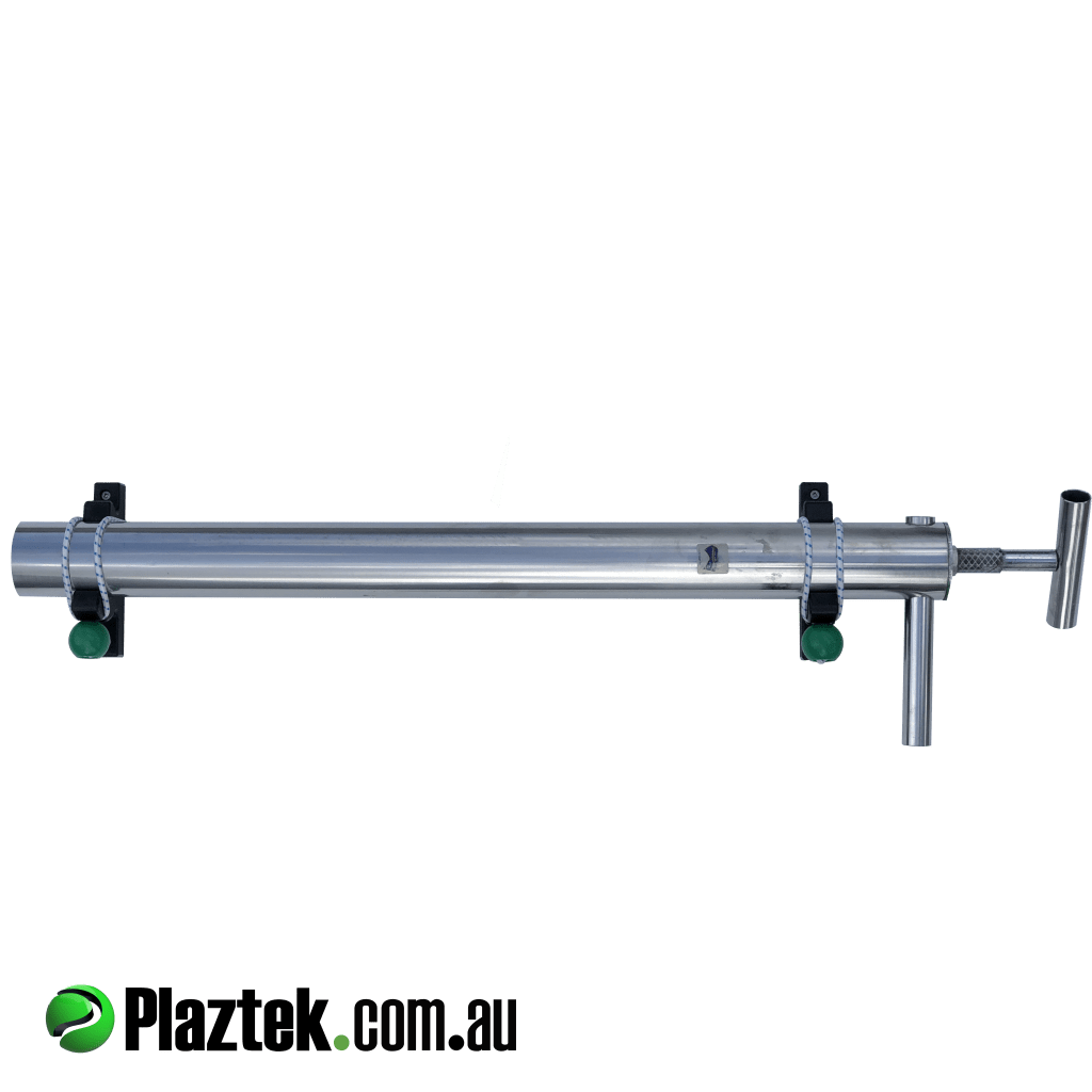 Plaztek Yabby pump holder the best fishing accessory for your boat