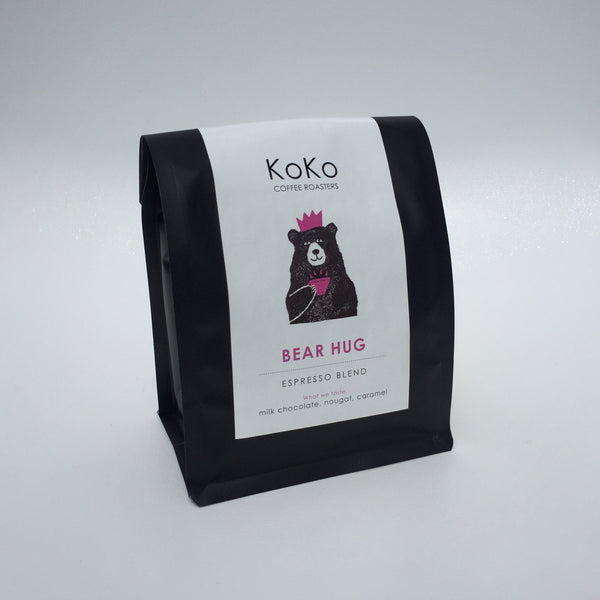 Bear Hug Espresso Blend - KoKo Coffee Roasters
