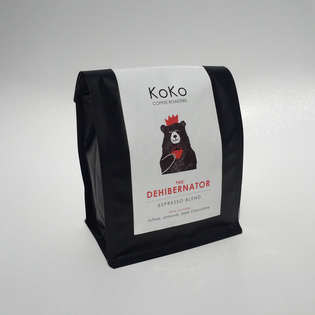 The Dehibernator Espresso Blend - KoKo Coffee Roasters