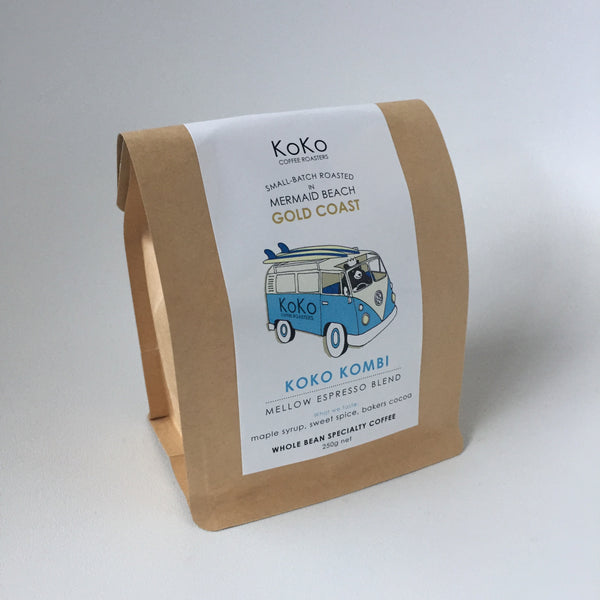 KoKo Kombi Mellow Espresso Blend - KoKo Coffee Roasters