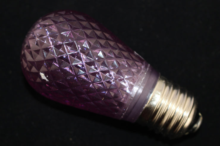 Minleon T50 Faceted E27 Festoon Light Bulb purple image