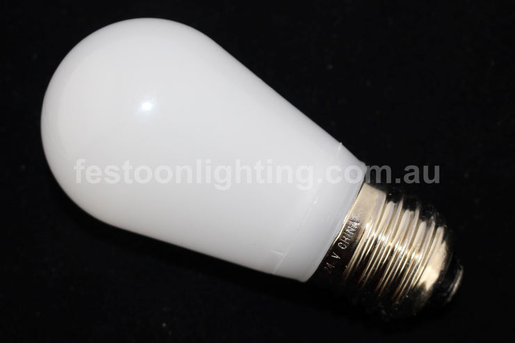 T50 Frosted E27 Decorative Festoon Bulb - White