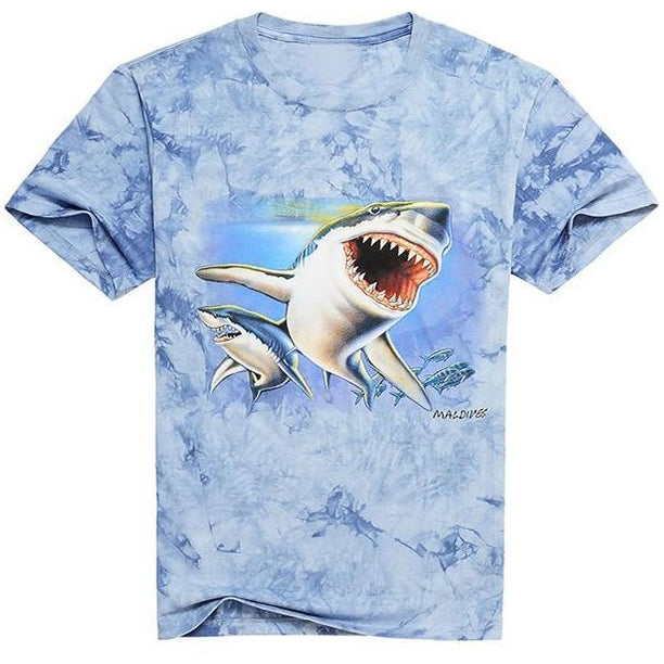 fish tie dye tshirts sunday gold
