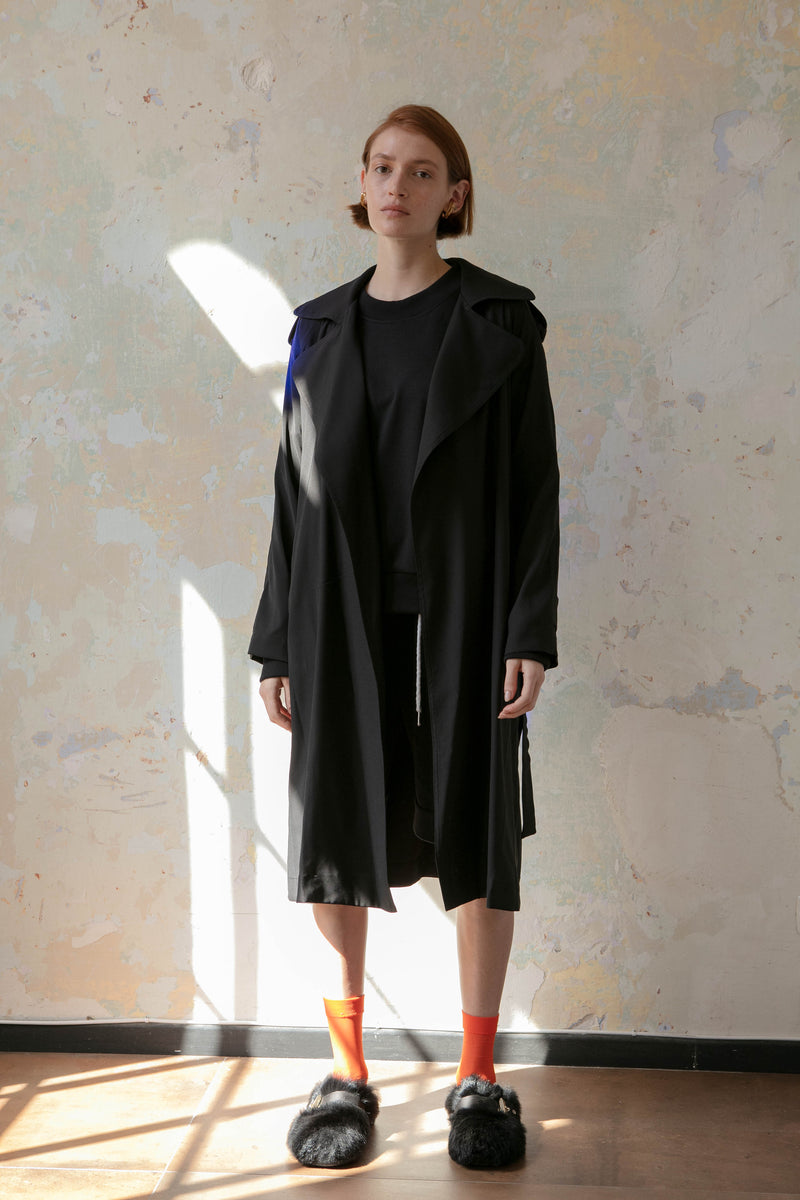 wind trench coat