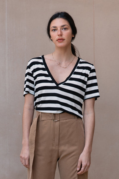 sunny v stripes top