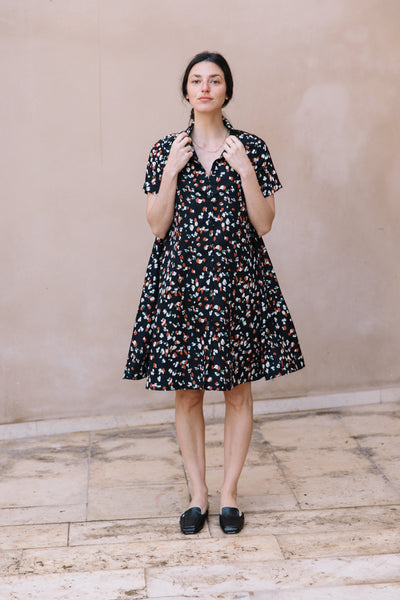 dome printed dress