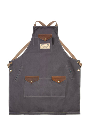 THE APRON - CANVAS ASH