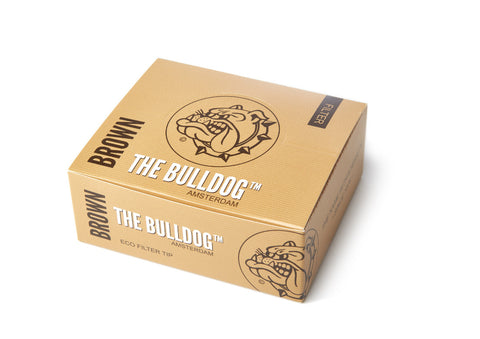 The Bulldog Amsterdam Brown Filters, smoke, smoke accessories