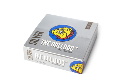 The Bulldog Amsterdam Silver Filters, filter tip, filter tips, smoke, smoke accessories