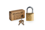 Brass Luggage Lock