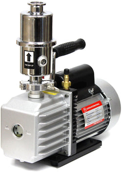 Ai EasyVac 7 cfm Compact Vacuum Pump with Oil Mist Filter, Across international