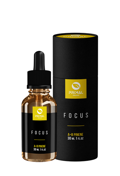 PRIMAL ORGANIX- Focus Plus - 30mL