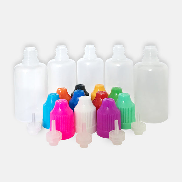 Needle Tip Bottles 30ml - 5pk