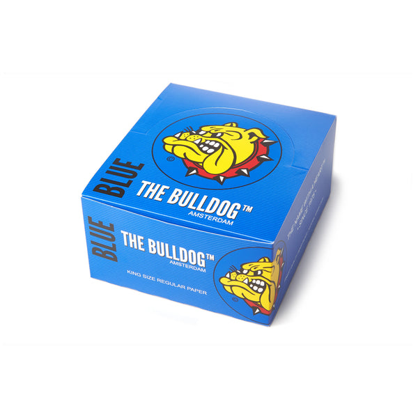 The Bulldog Amsterdam King Size Blue Papers, smoke accessories, smoke