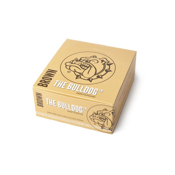 The Bulldog Amsterdam King Size Brown Papers, smoke, smoke accessories