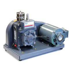 Welch 1400 DuoSeal 0.9 cfm 0.1 Micron Belt Drive Dual-Stage Pump, across international