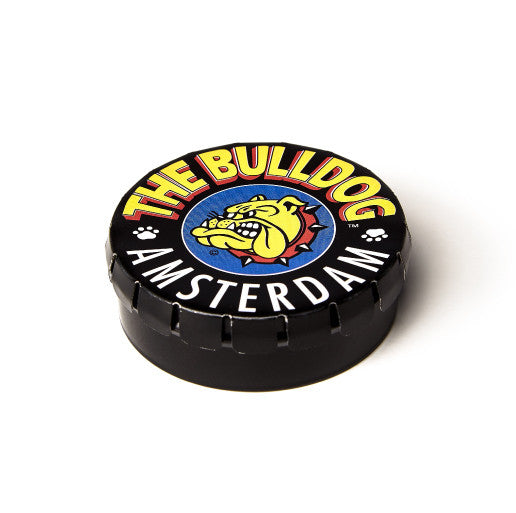 The Bulldog Amsterdam Metal Clic Clac Storage Tin 50ml, smoke, smoke accessories, storage, tin